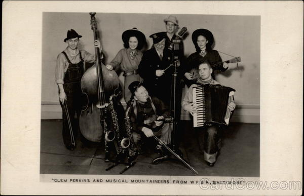 Clem Perkins and Musical Mountaineers from WFBR, Baltimore Maryland