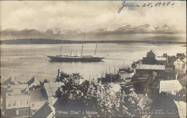 Prins Olav in Molde Norway