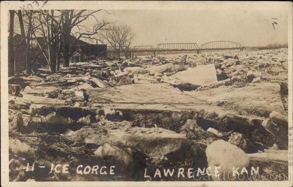 11 - Ice Gorge Lawrence Kansas
