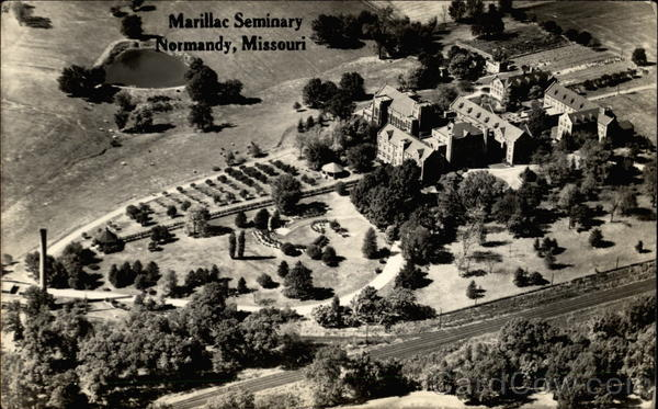 Aerial View of Marillac Seminary Normandy Missouri
