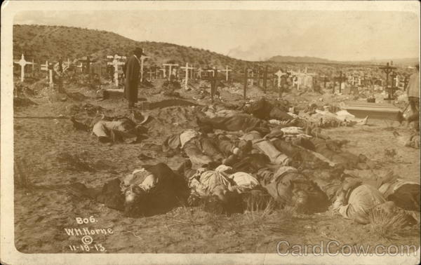 What Is My Paypal Email >> Cemetary with unburied bodies - Mexican Revolution Mexico ...