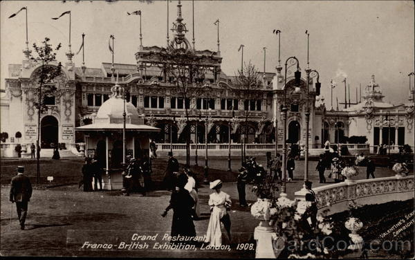 Grand Restaurant at the Franco-British Exhibition of 1908 London United Kingdom