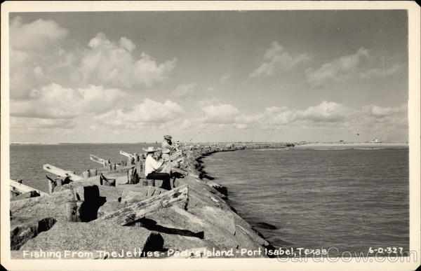 Fishing From the Jetties- Padre Island Port Isabel Texas