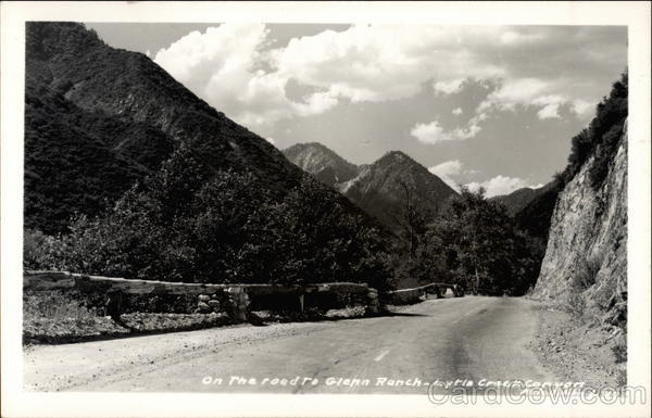 The Road to Glenn Ranch - Lytle Creek Canyon California
