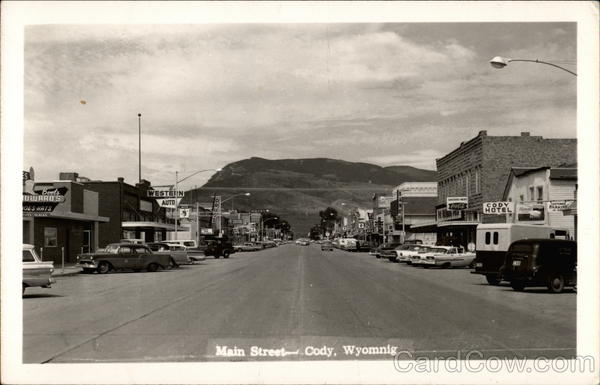 Main Street Cody Wyoming