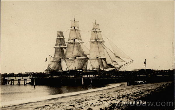 Charles W. Morgan at Round Hills New Bedford Massachusetts