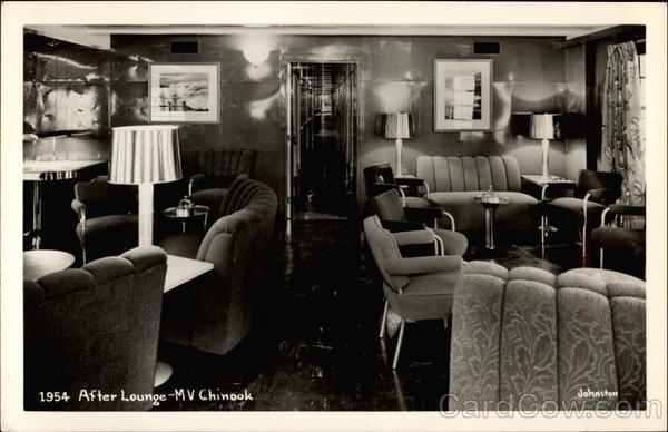 After Lounge on MV Chinook Ferries