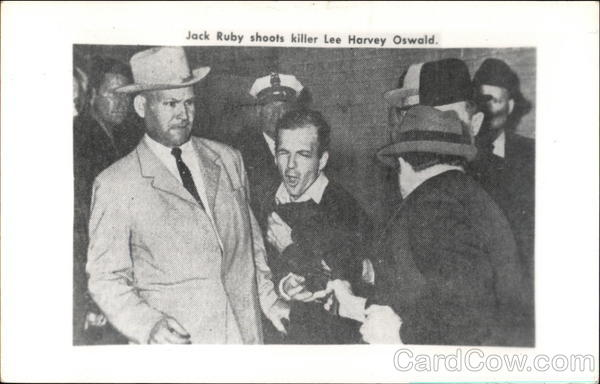 Jack Ruby Shoots Killer Lee Harvey Oswald Men