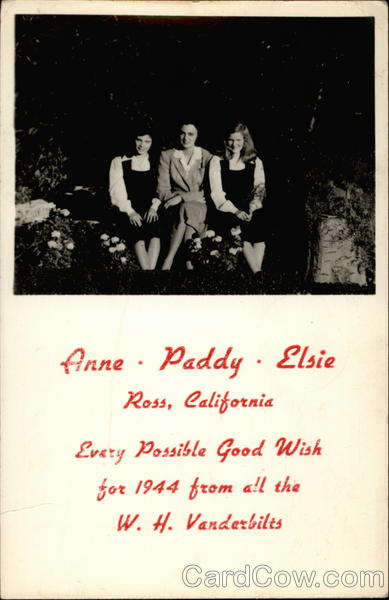 Anne, Paddy, Elsie Ross California