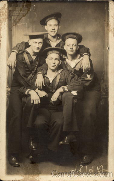 A Group of Young Sailors Navy