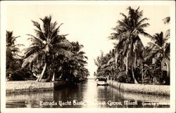 Entrance to Yacht Basin at Coconut Grove