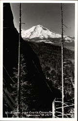 Mt. Shasta from Castle Crags Postcard