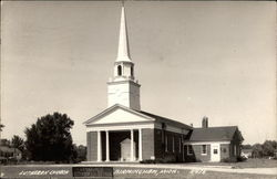 Redeemer Lutheran Church in Birmingham, Mich Postcard