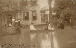 The Flood at Fayetteville - Aug. 1908