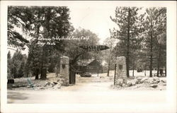 Gateway to Idyllwild Pines