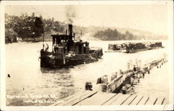 Entering Torch River Postcard