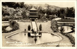 Sacred Bridge and Pagoda of Nara, Bernheimer Oriental Gardens