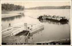 Henderson Ferry on Lake Norfork