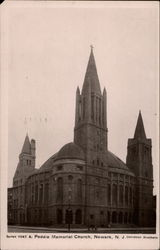 Peddie Memorial Church in Newark