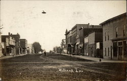 View of Main Street in Williams, IA