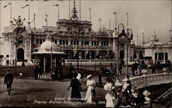 Grand Restaurant at the Franco-British Exhibition of 1908