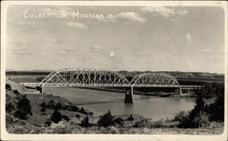 Bridge at Culbertson, Montana