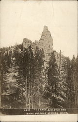 View of the Castle in the Castle Mountains of Montana