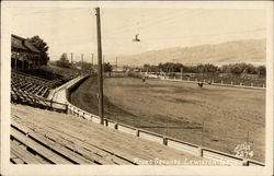 View of the Rodeo Grounds at Lewiston, Idaho in 1947