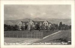 Talkington Hall and Courts - Lewiston State Normal