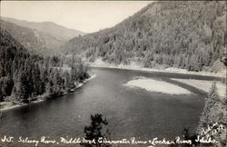 Juntion of Selway River, Middle Fork Clearwater River & Lochsa River