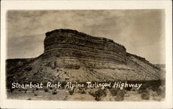 Steamboat Rock on the Alpine Terlingua Highway