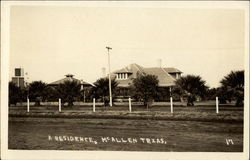 Front of a Residence, Mc Allen Texas