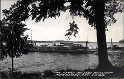 Car ferry at Lake Wisconsin