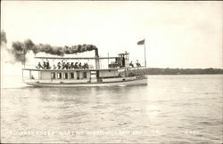 Passenger Boat on Lake