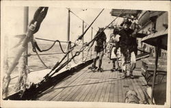 1908 Neptune Party Crossing the Equator