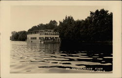 Riverboat on the Tahquamenon River to Falls