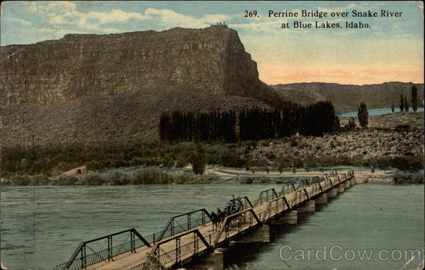 269. Perrine Bridge over Snake River Blue Lakes Idaho