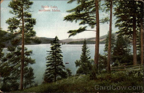 Spirit Lake is one of Spokane's Beautiful Outing Resorts Idaho