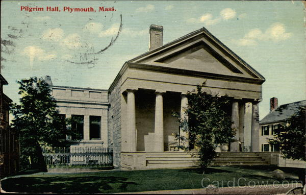 Pilgrim Hall Plymouth Massachusetts