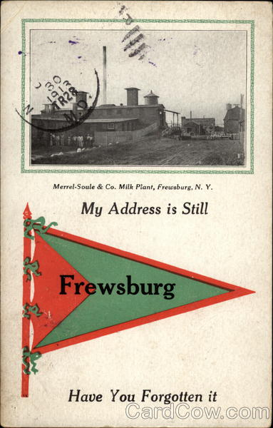 Merrel-Soule & Co. Milk Plant Frewsburg New York