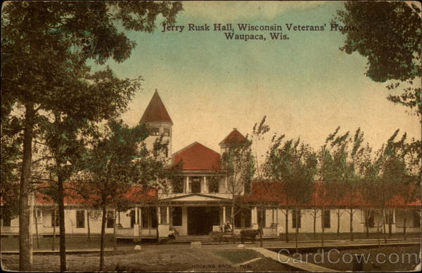 Jerry Rusk Hall, Wisconsin Veterans' Home Waupaca