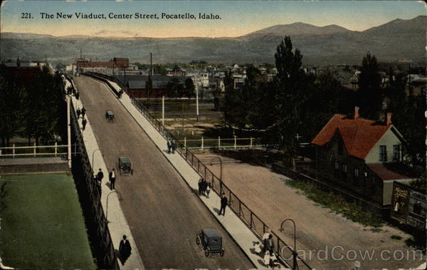 The New Viaduct, Center Street, Pocatello, Idaho
