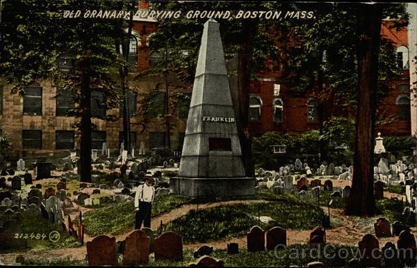 Old Granary, Burying Ground Boston Massachusetts