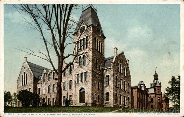 Boynton Hall, Polytechnic Institute Worcester Massachusetts