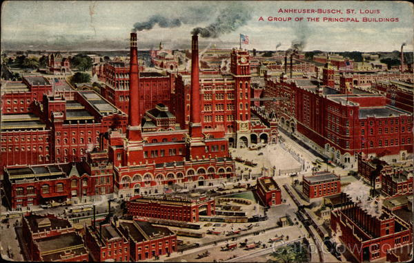 A Group of the Principal Buildings, Anheuser-Busch St. Louis Missouri