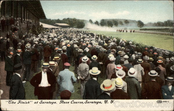 The Finish at Saratoga, Race Course New York