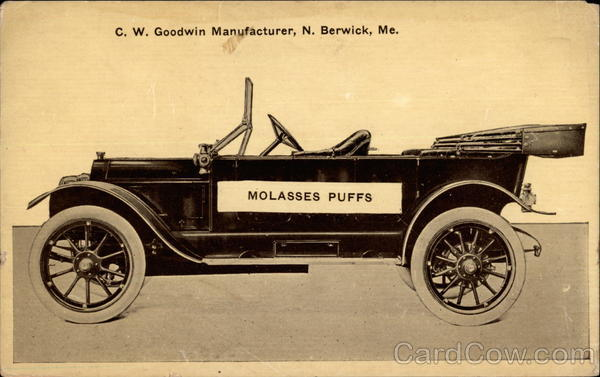 Molasses Puffs Advertising