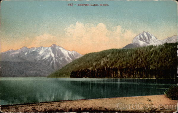 Redfish Lake Stanley Idaho