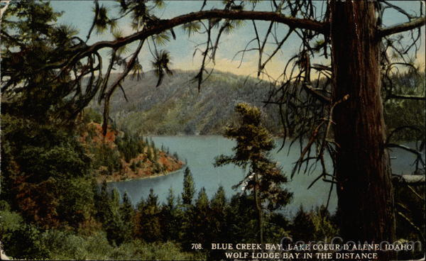 Blue Creek Bay Lake Coeur d'Alene Idaho