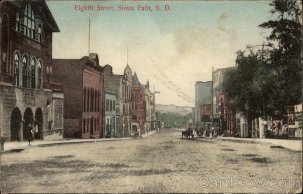 Eighth Street Sioux Falls South Dakota